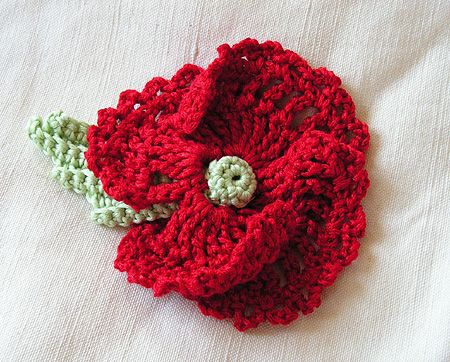 Oeillet Rouge | Crochet and knitting | Pinterest