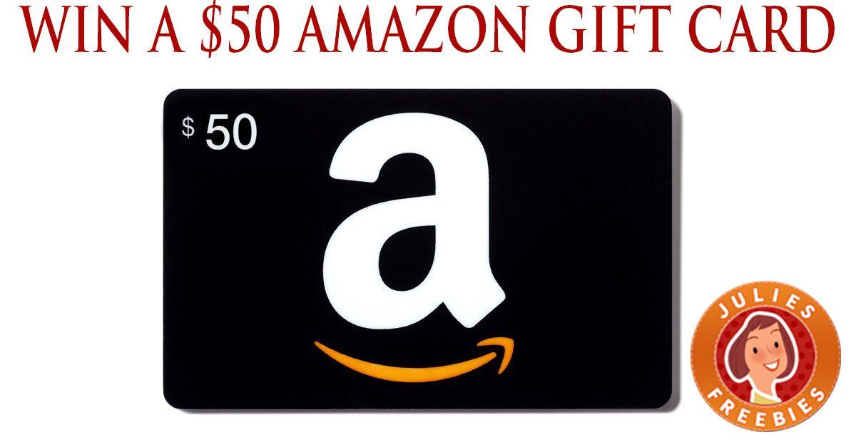 Enter to Win a 50 Amazon Gift Card Amazon card, Free