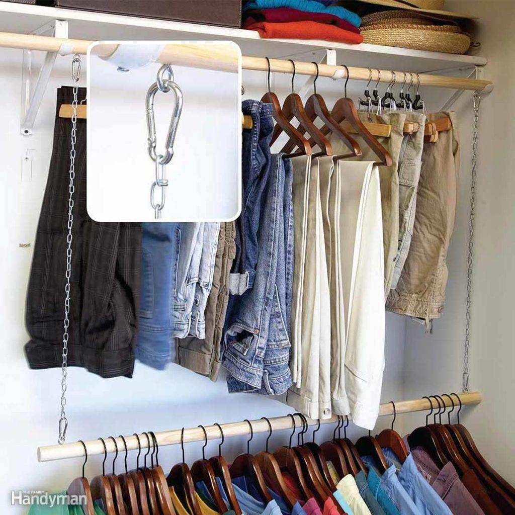 Fresh Open Closet Storage Ideas