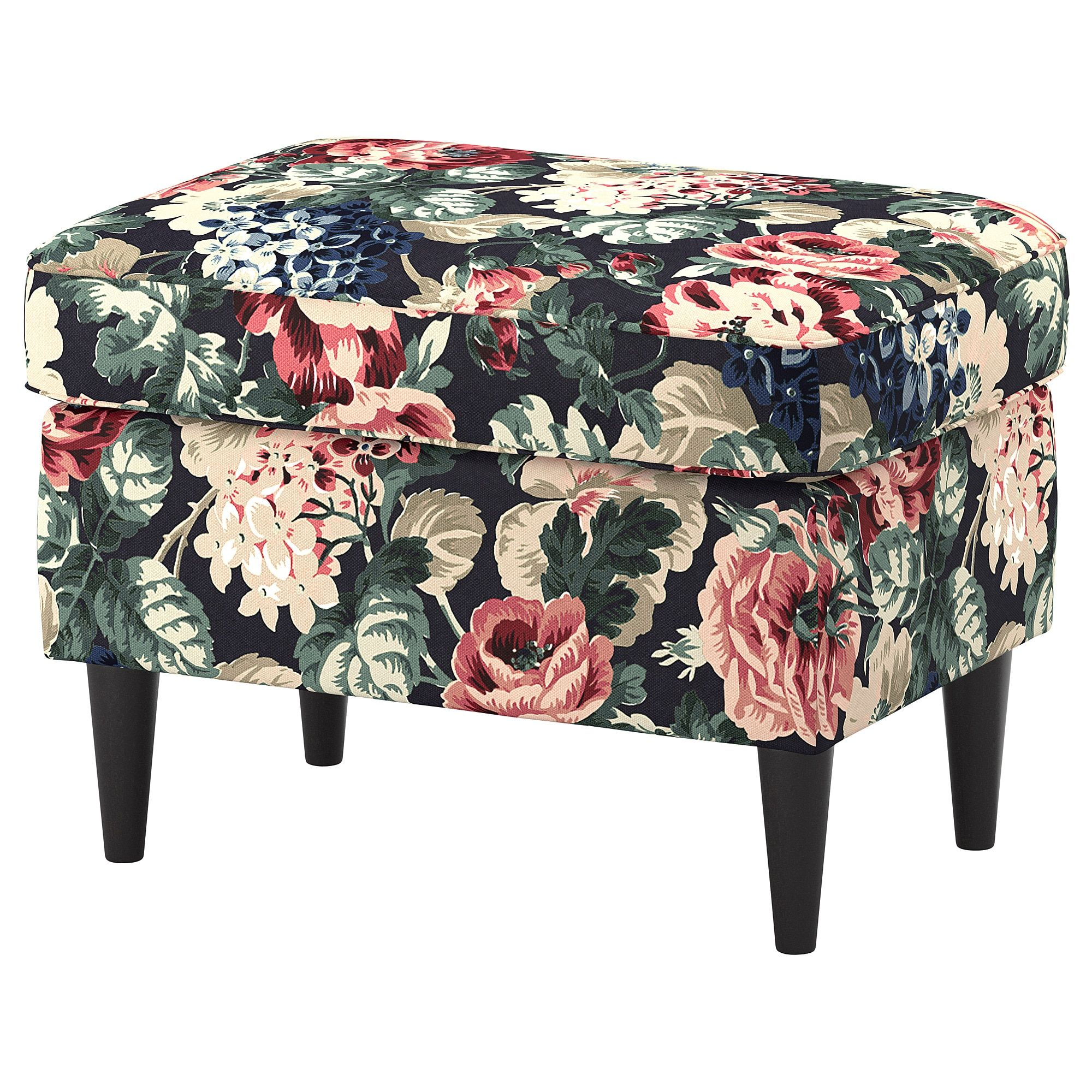 Strandmon Sessel Füße Strandmon Ottoman Lingbo Multicolor Decor Ikea Footstool