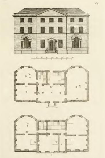 175 Architectural Floor Plans Architecture Plan Vintage House Plans