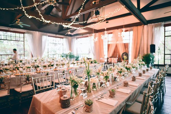 Gorgeous And Golden Wedding Reception Venues Bride Breakfast