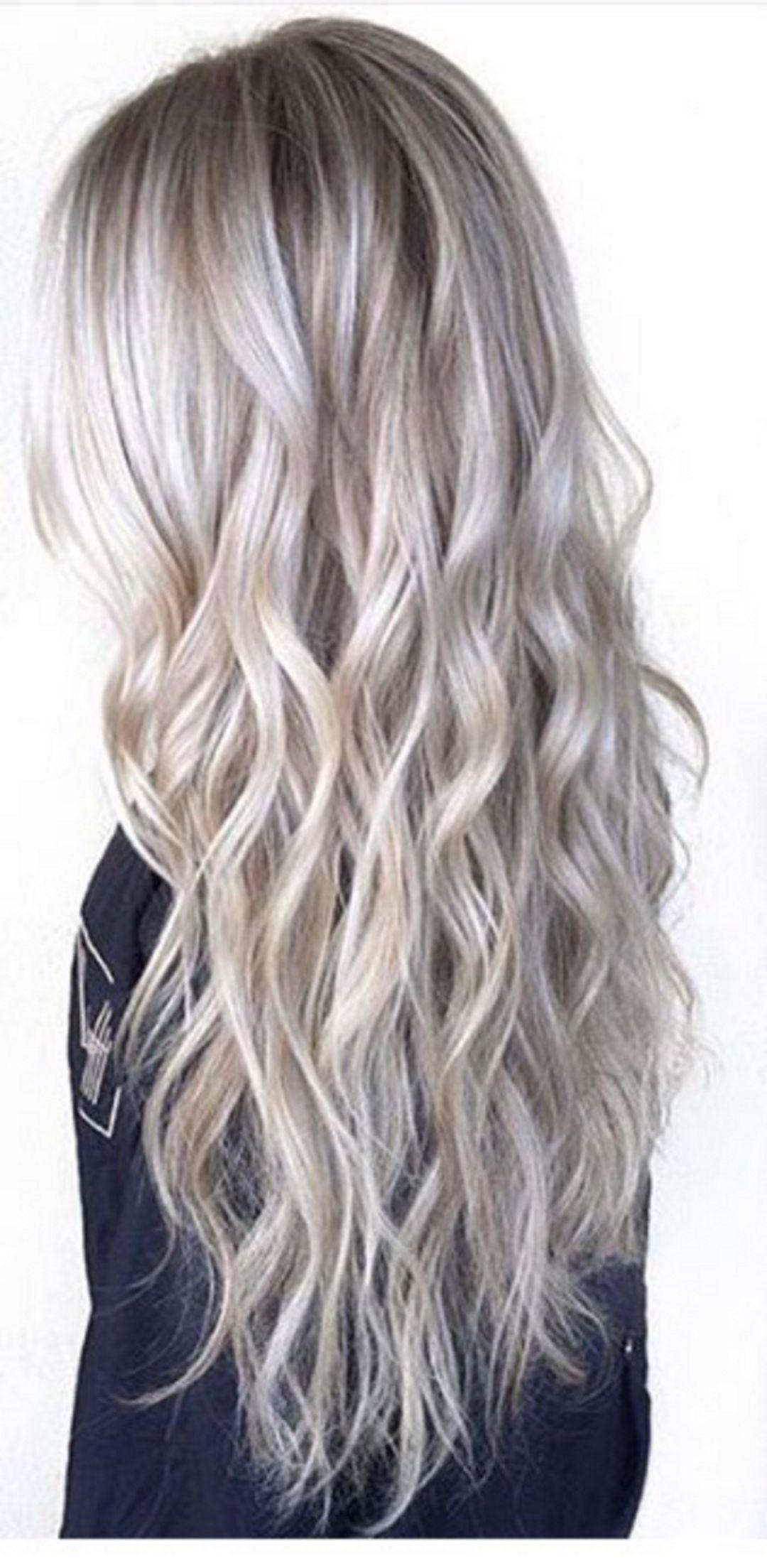 Lovely Silver Hair Color Ideas