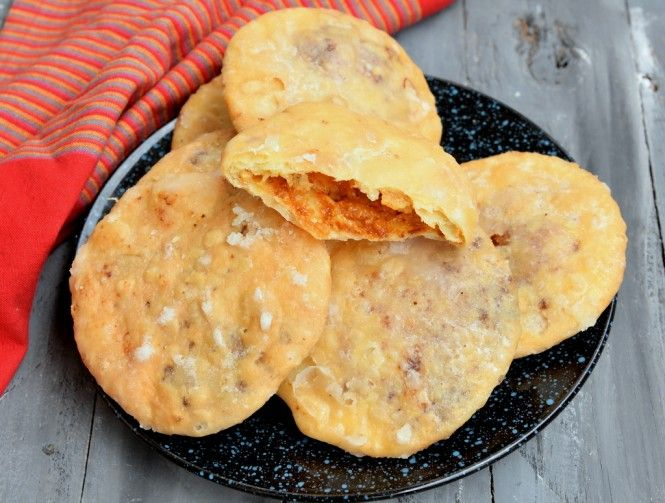 a specialty from rajasthan these dry fruit and mava khoya stuffed crisp deep fried kachoris are hard to resist here is an easy to follow recipe to make