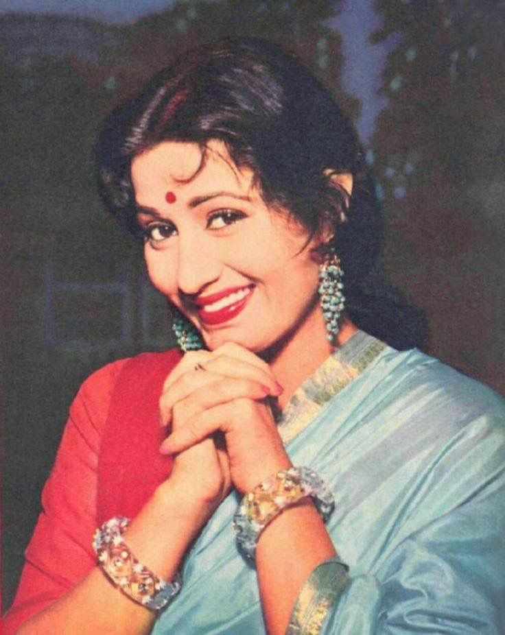 Rare coloured pic of #Indian yesteryear actress #Madhubala