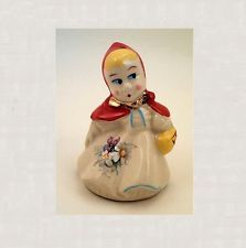 LITTLE RED RIDING HOOD PIE BIRD CERAMIC PIE VENT SHIPS FREE