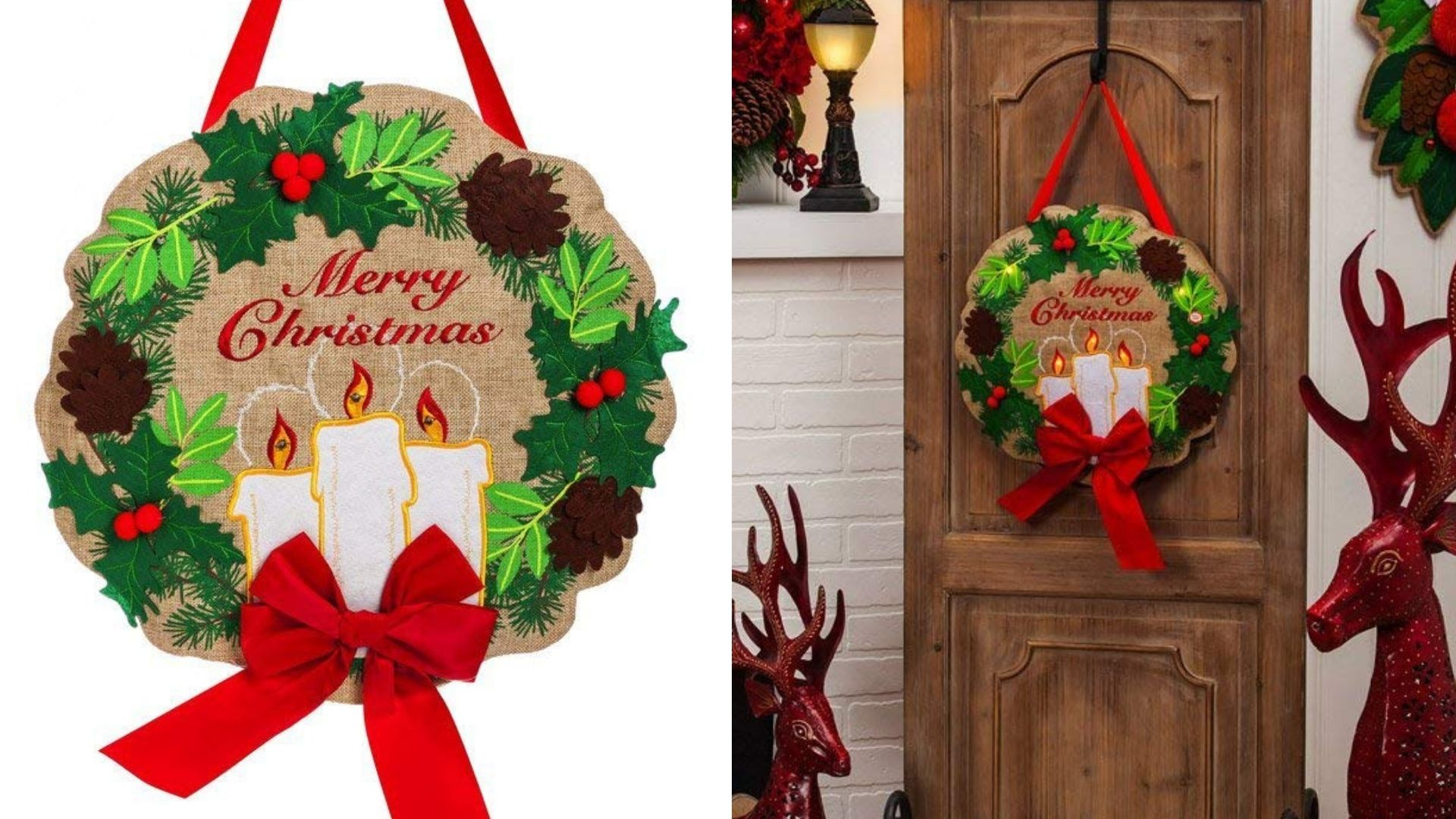 25 Best Holiday Wreaths That You Can Actually Buy