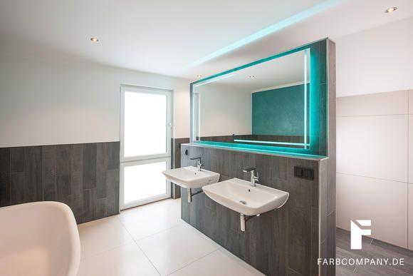 Badezimmer wandgestaltung ~ Raumgestaltung badezimmer wandgestaltung mit steinspachtel