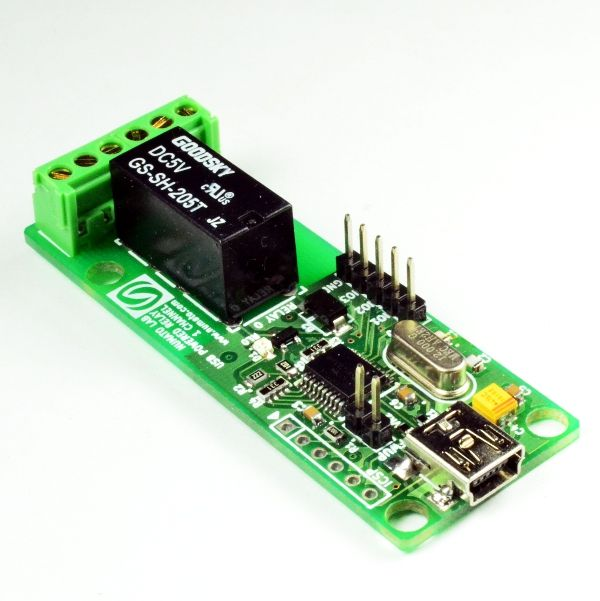 1 Channel USB Powered Relay Module | Relay Modules | Usb