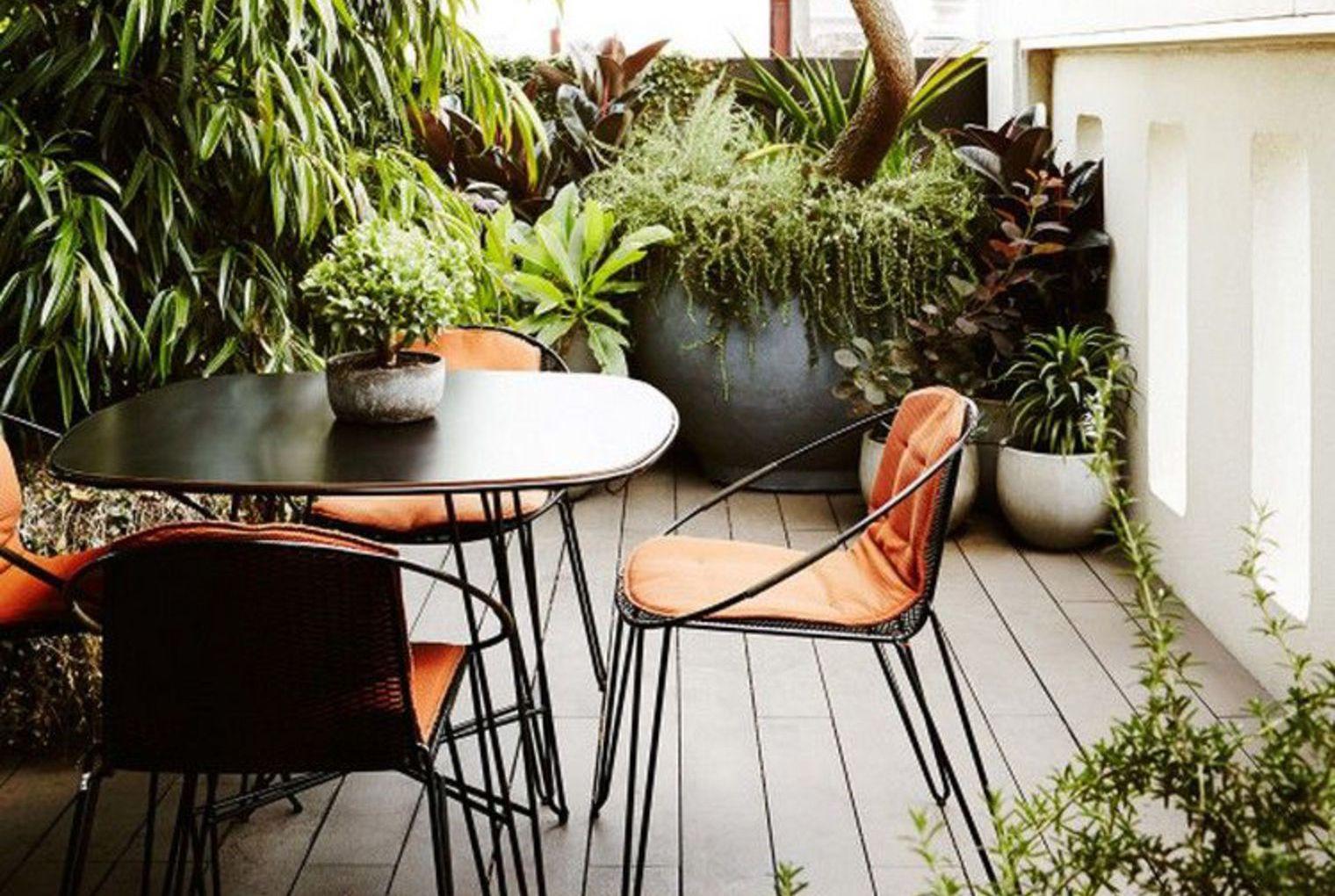 7x Wintertuin Inspiratie : Inspiratie kleine balkons vol met planten kleine