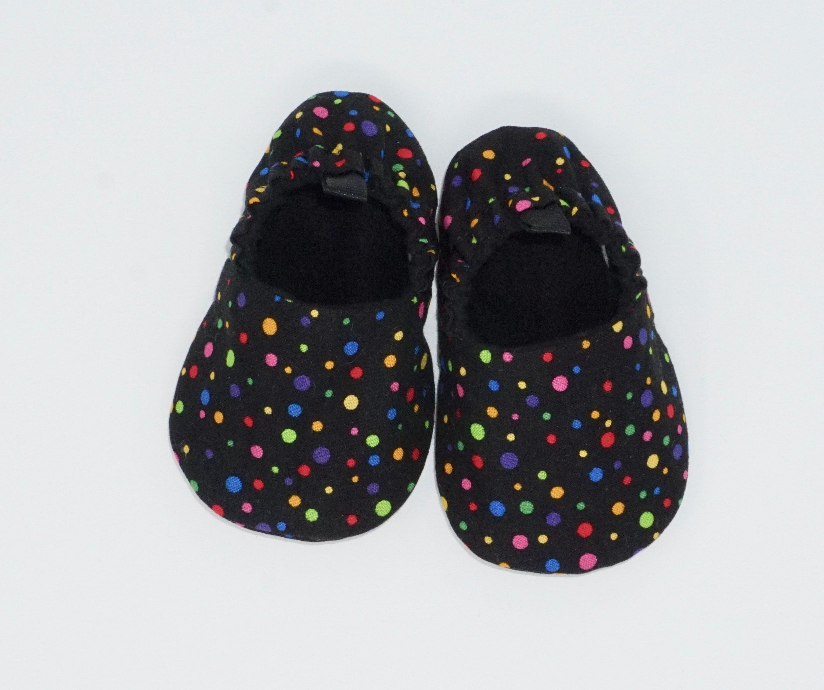 ef8c8de77a735 Confetti Baby Shoes, Black, Soft Sole Baby Shoes, Baby Booties, Toddler  Slippers, Baby Moccs, Baby Girl, Baby Gift, Baby Shower Gift by  stitchininstilettos ...