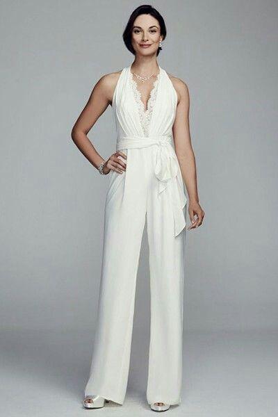 78bfdc4156 Wedding jumpsuit Mono Largo Boda