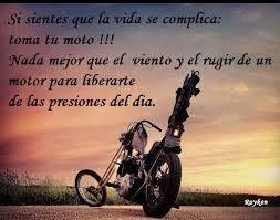 Imagenes De Motos Con Frases De Amor