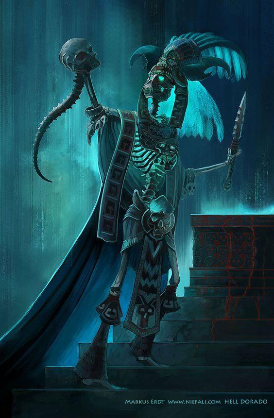 Dios De La Muerte Arte Arte Azteca Dioses Aztecas Imagenes De Guerreros Aztecas