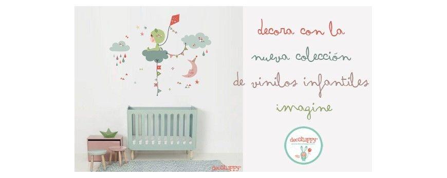 Vinilos Infantiles Decohappy.Decora Con La Nueva Coleccion De Vinilos Infantiles Imagine