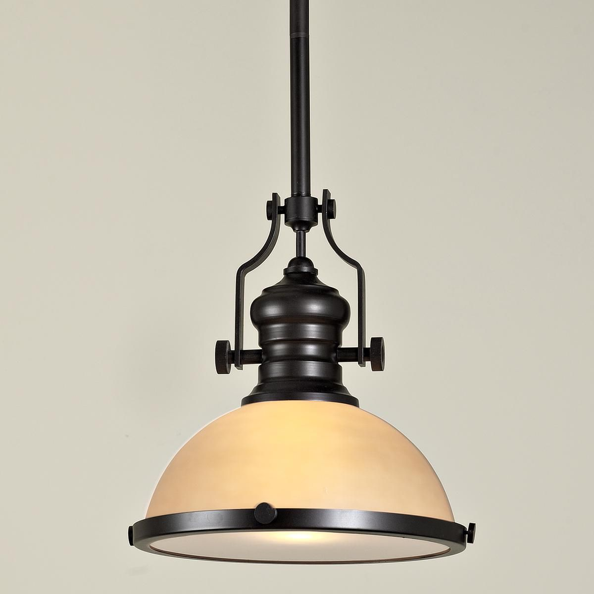 Craftsman period pendant 4 finishes shades of light
