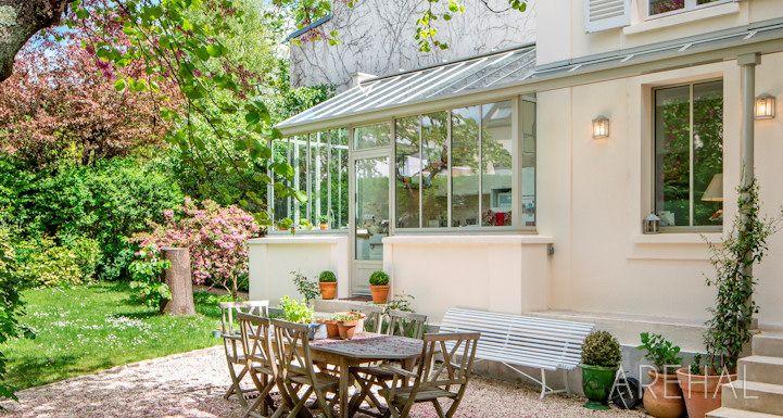 Arehal v randa et verri re l 39 ancienne sur mesure en r gion parisienne alain mottais - Verriere jardin d hiver ...