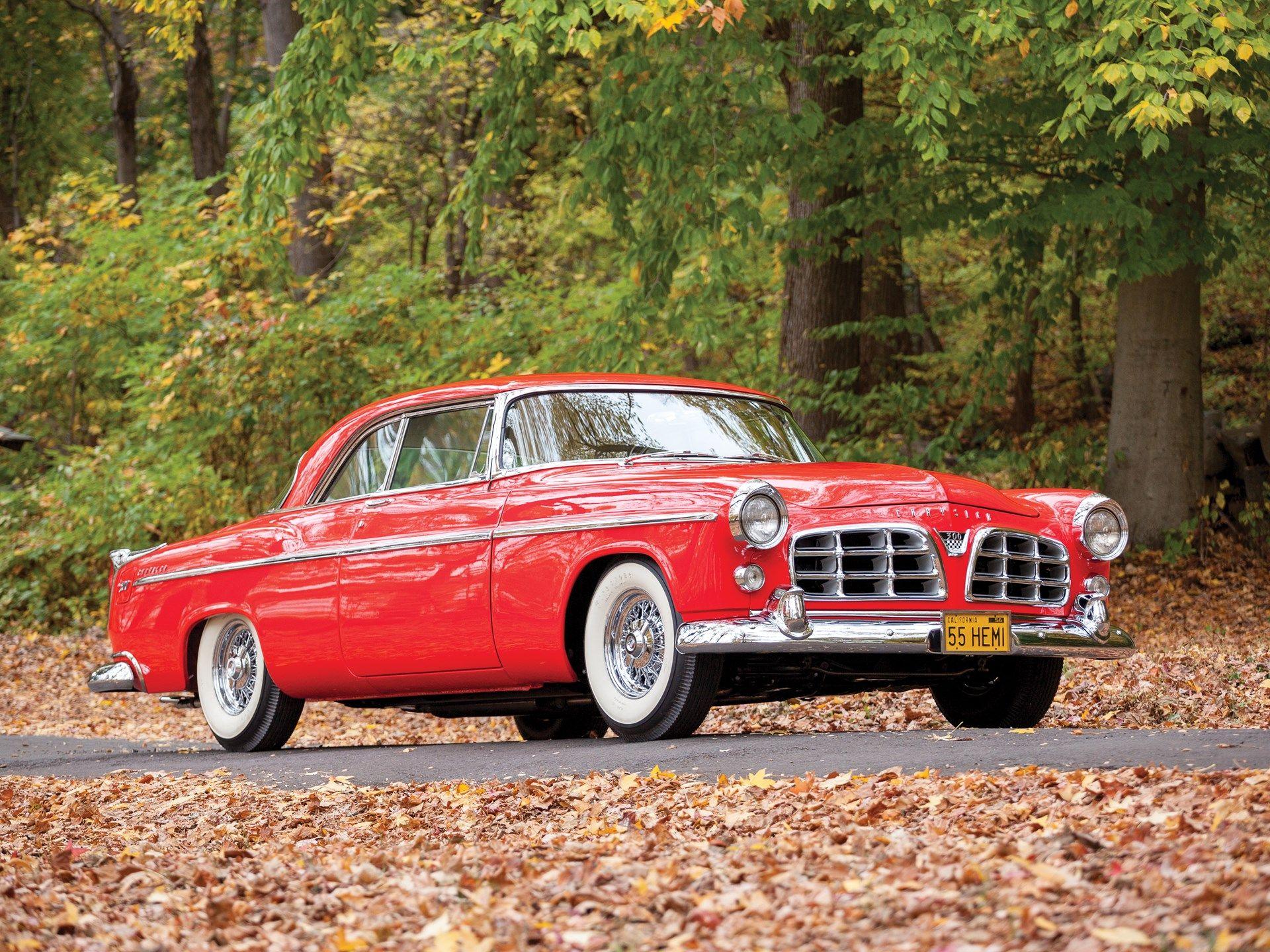 1955 Chrysler C 300 Hardtop Coupe Classic Cars Chrysler 300 Chrysler