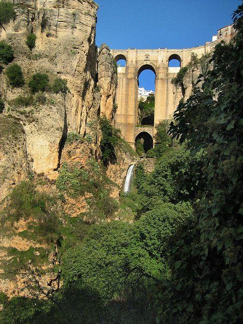 Puente Nuevo, Ronda   Flickr - Photo Sharing! Johnny_clash55