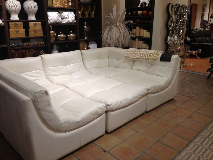 Gamma Italian Leather Couch