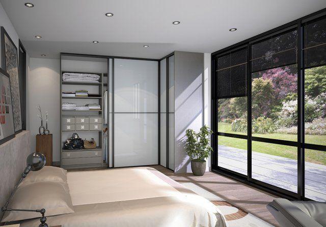 Modèle Méridien : Portes de placard Sogal | chambre | Pinterest