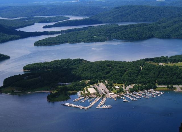 Raystown Lake Pa In The Foreground Is Seven Points Marina Campgrounds Picnicing And Beachs That Are Part Of 29 000 Acres Land 8 Acre