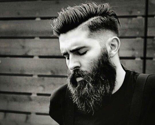 Low Fade Long Beard Hipster Hairstyles Beard Haircut Hair And Beard Styles