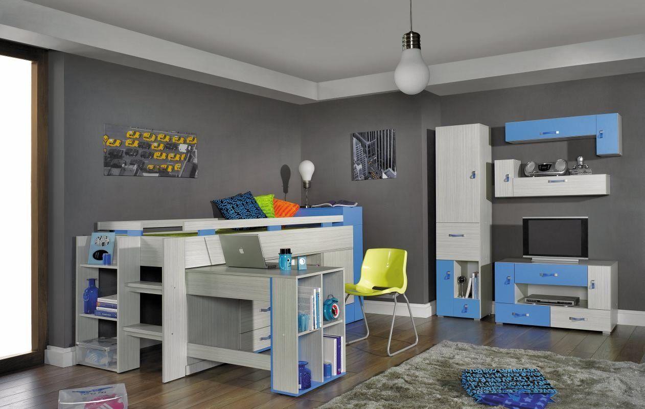 Kinderzimmer Set | *1 Schrank *1 TV - Unterschrank *2 ...