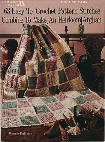 63 Easy To Crochet Pattern Stitches Made This In Red White And