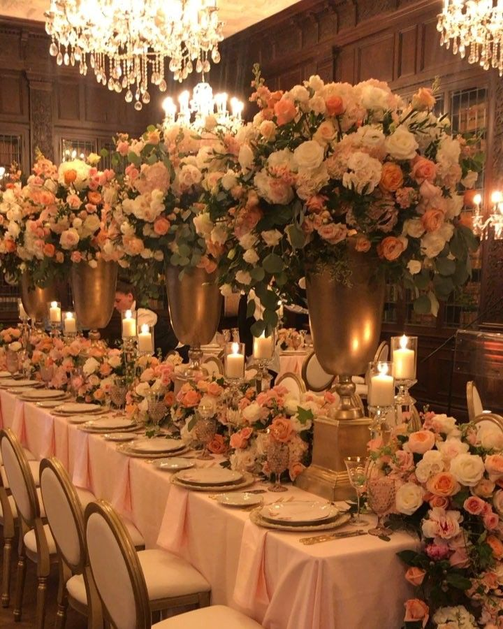 Celebrity Wedding Reception Decor: Pin By Hannah Pyle On ~ The Knot In 2019