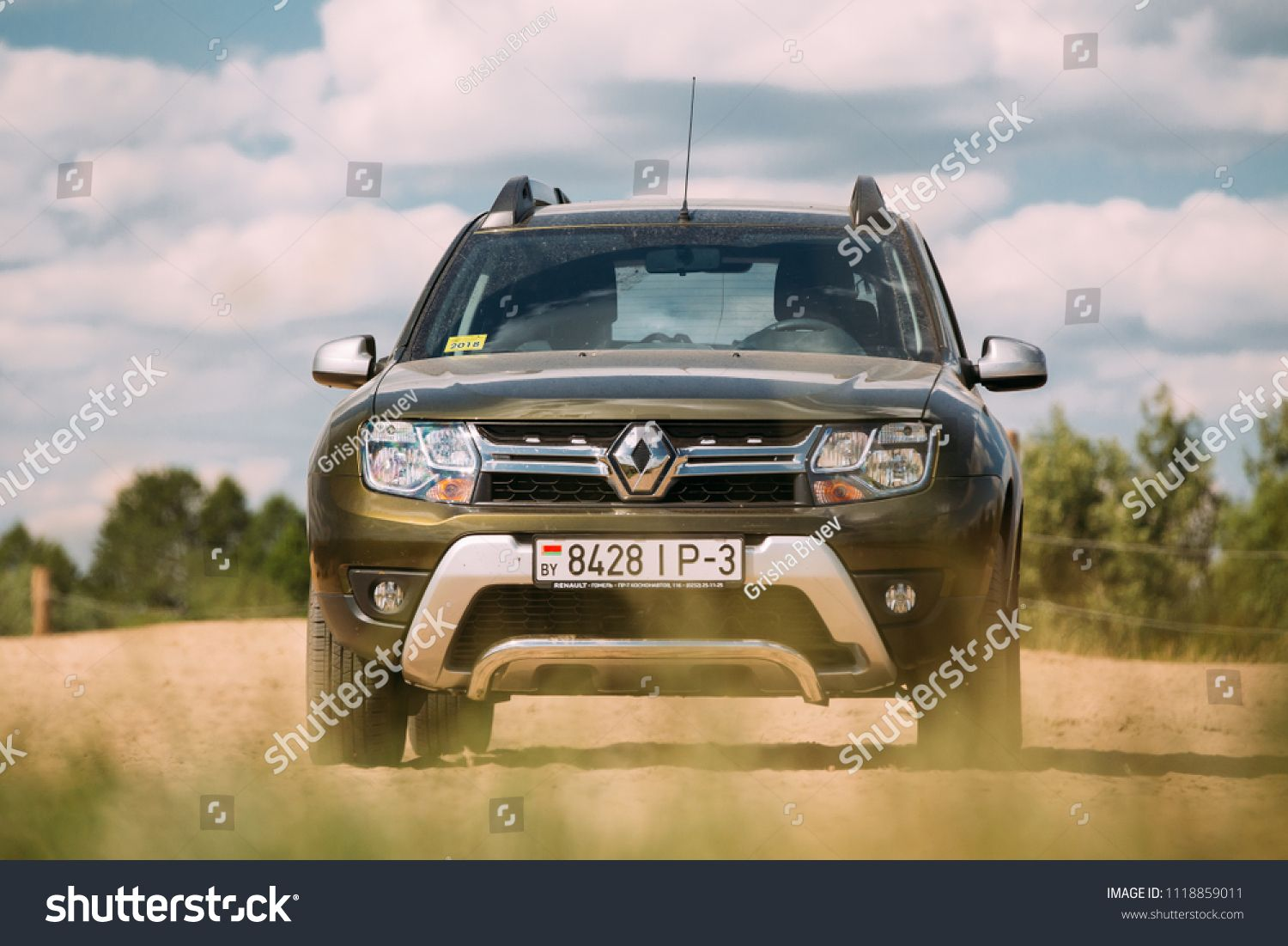 Gomel Belarus June 13 2018 Renault Duster Or Dacia Duster Suv In Countryside Landscape Duster Produced Jointly By French Man Gomel Renault Duster Renault [ 1101 x 1500 Pixel ]
