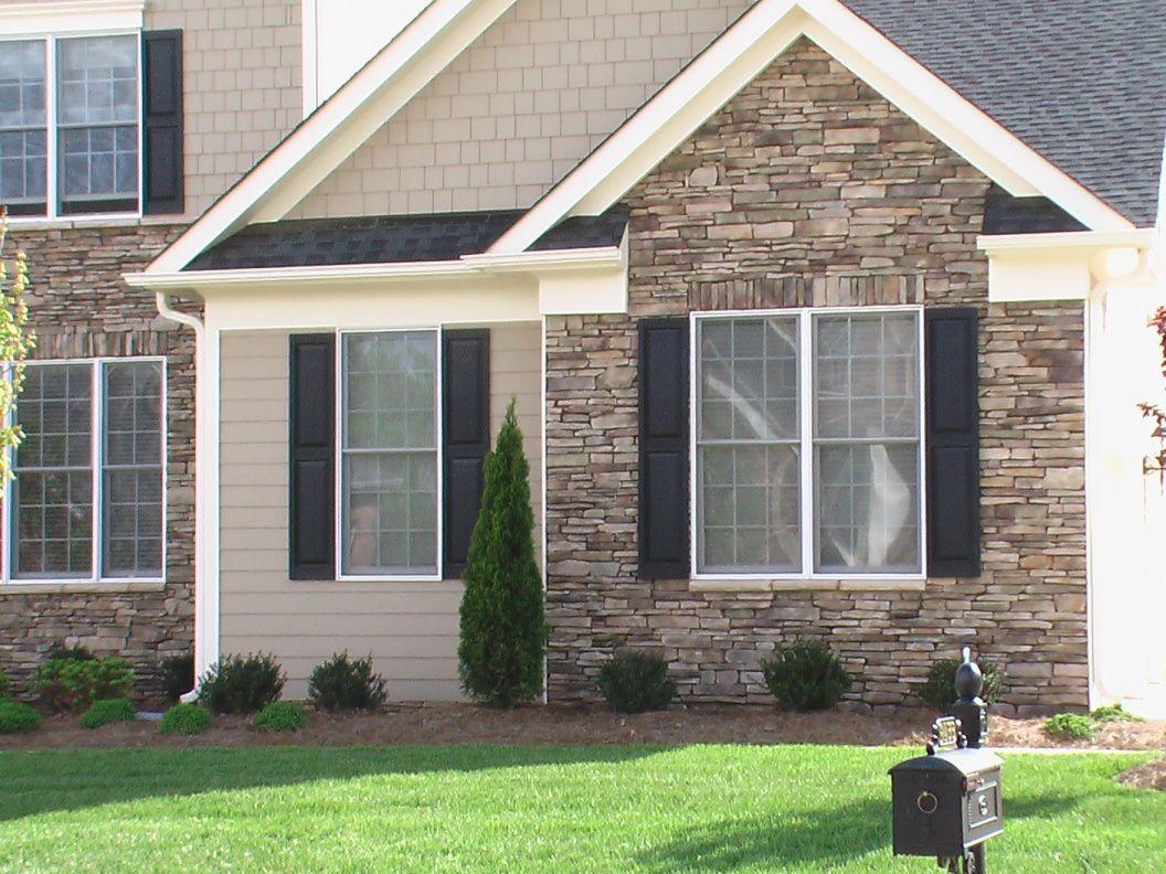 Bucks County Southern Ledgestone Dream Home Exterior