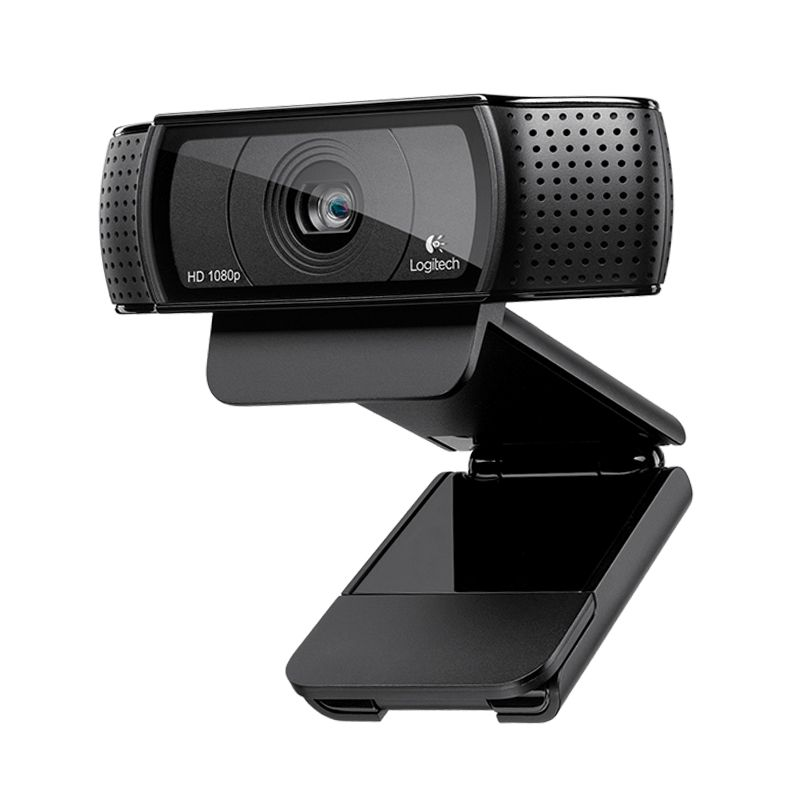 Logitech Pro C920 HD Webcam 1080p Webcam Video Recording , 15 Million Pixels, High Quality Camera, Conferencing Camera