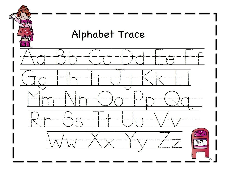 Free Printable Educational Worksheets Pdf Alphabet Tracing