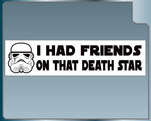 Ich hatte Freunde auf diesem Todesstern