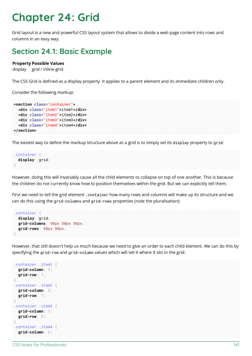 CSS Example Page 2 in 2020 Css examples, Css, Web