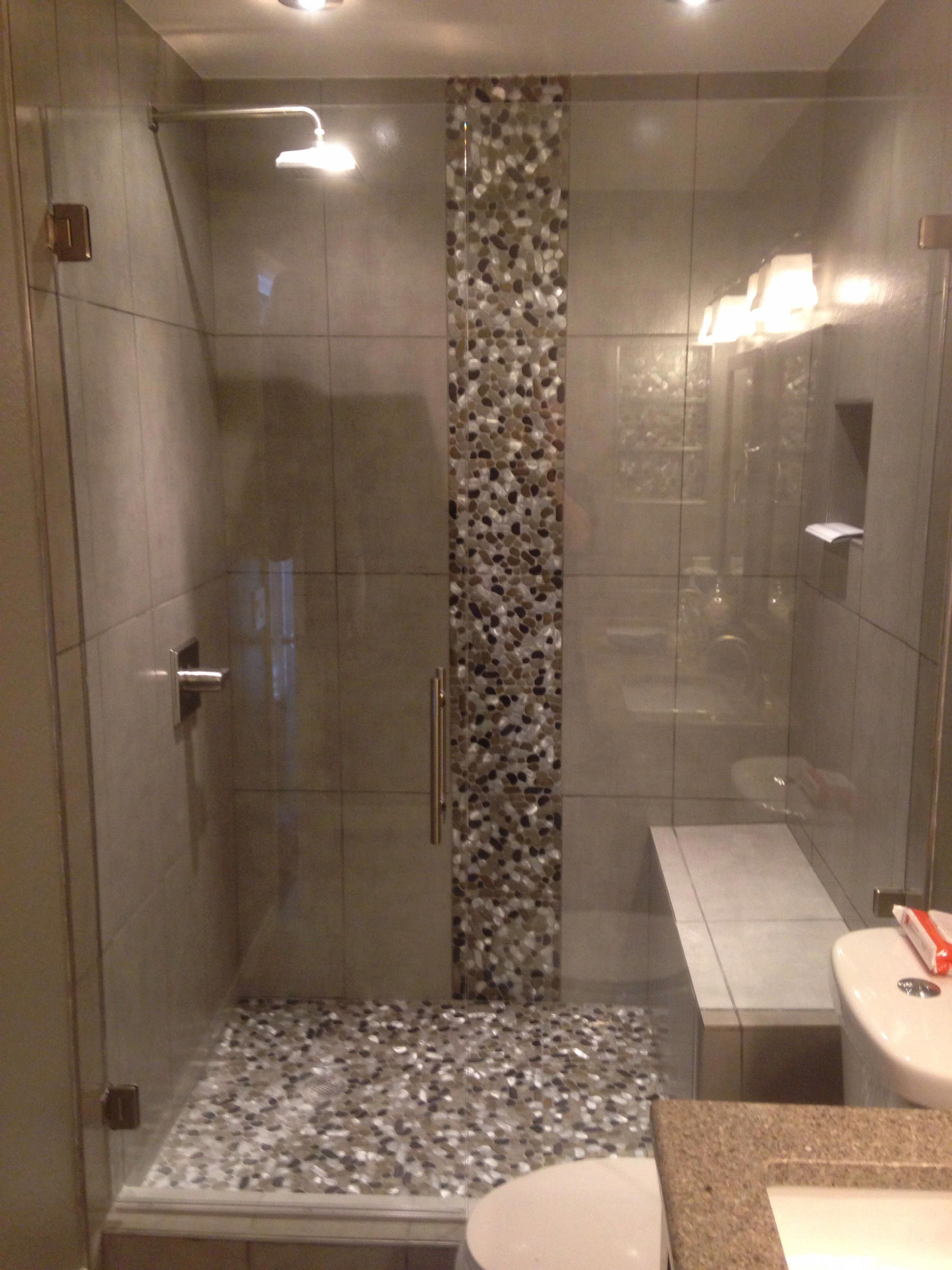 Completed Shower Door In Denver Colorado Banospequenos Banos