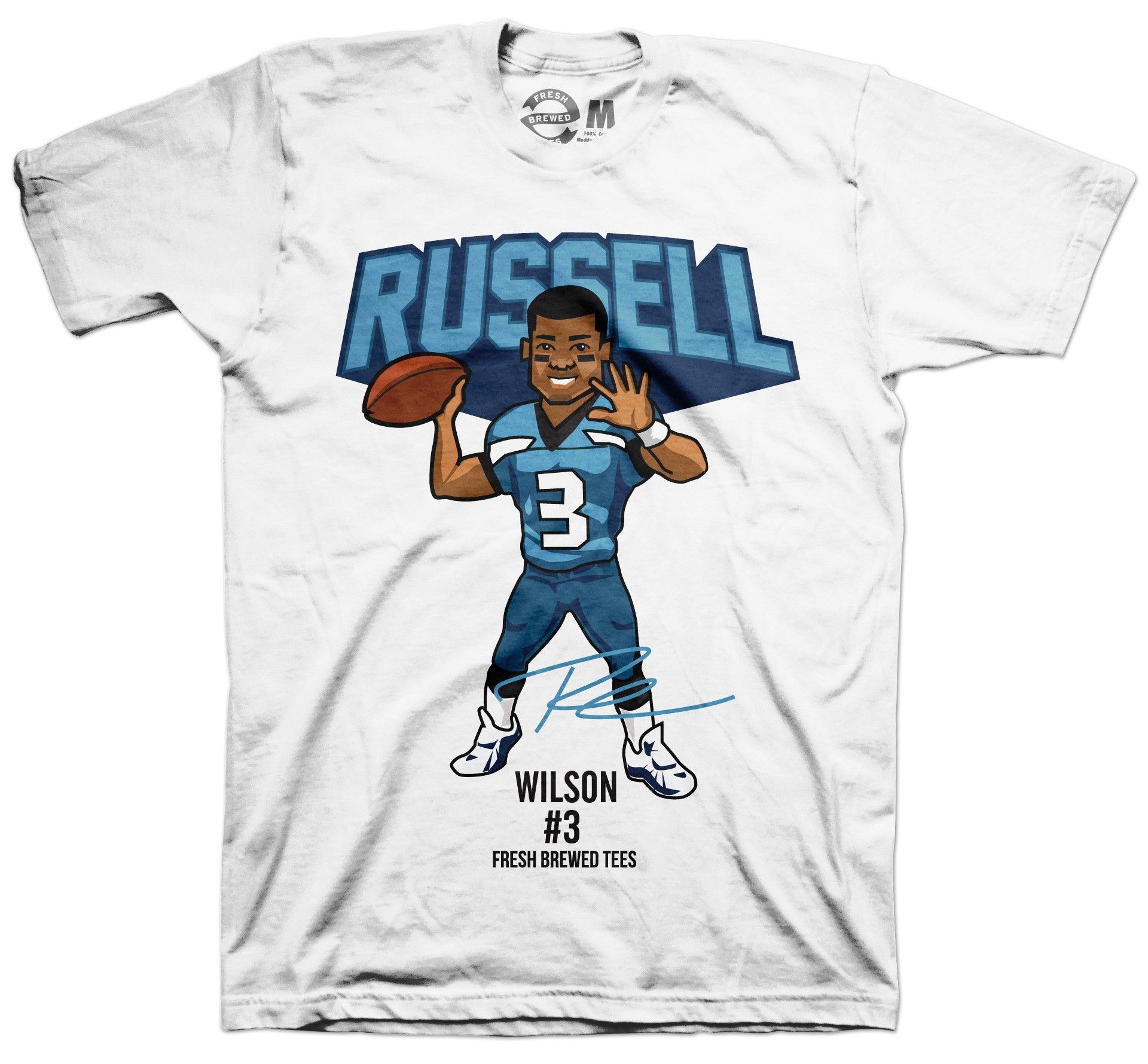 cd788b61 Seattle Seahawks Russell Wilson T-shirt #Seattle #SeattleSeahawks ...