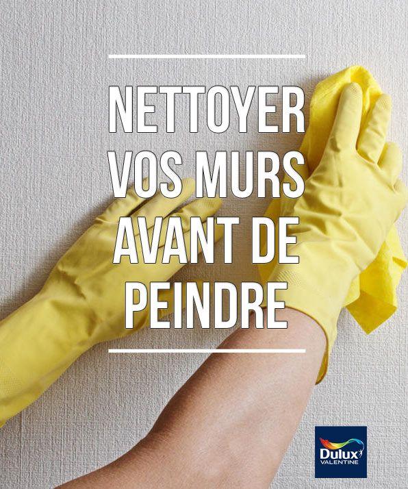 Nettoyer vos murs avant de peindre Guide, Mur et Envie