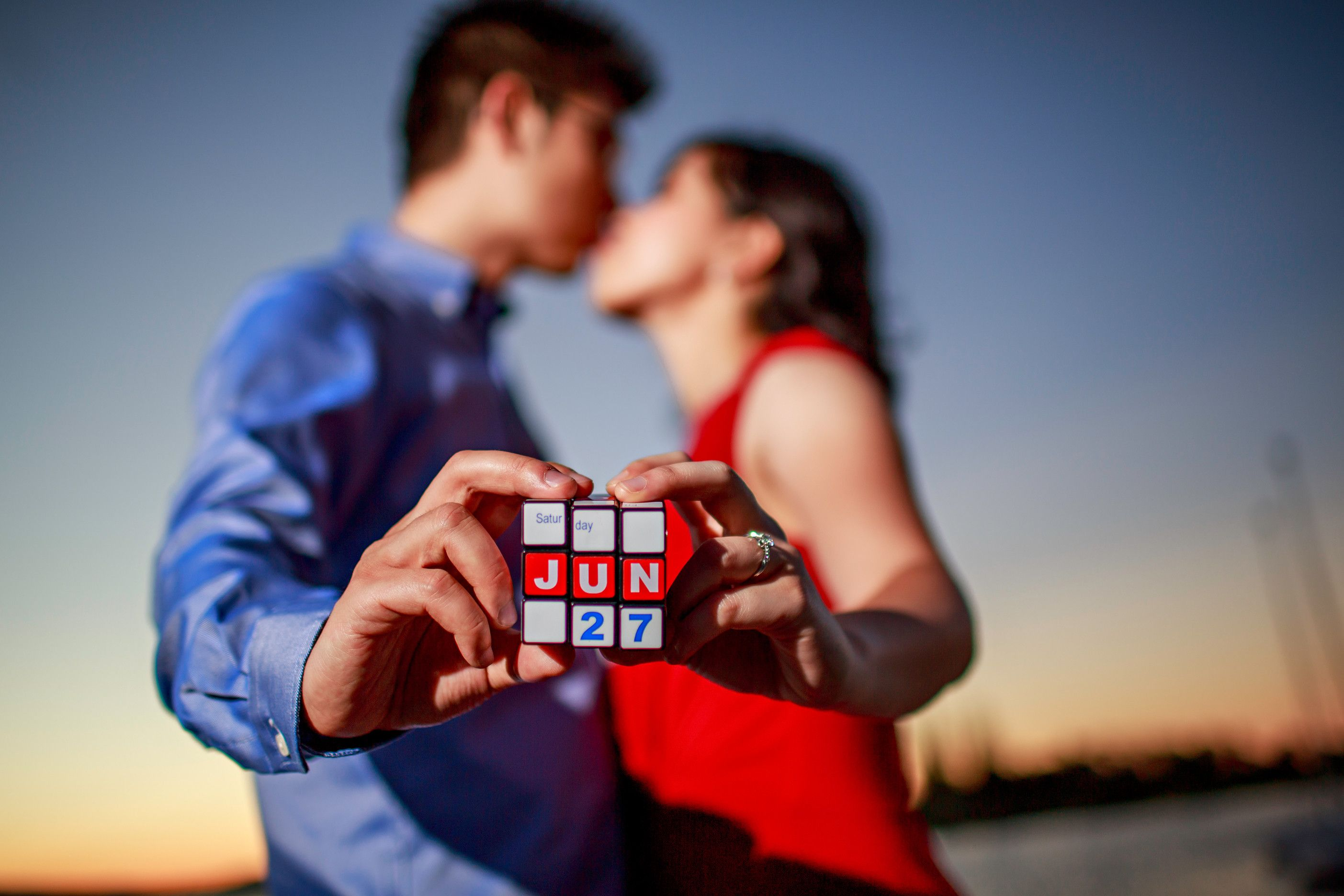 Rubik's Cube Montreal This Couple Used A Rubik S Cube To Announce Their Wedding Date