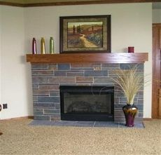 fireplace slate. Stacked Slate Tile Fireplace  Fireplaces Stone Manufacturers