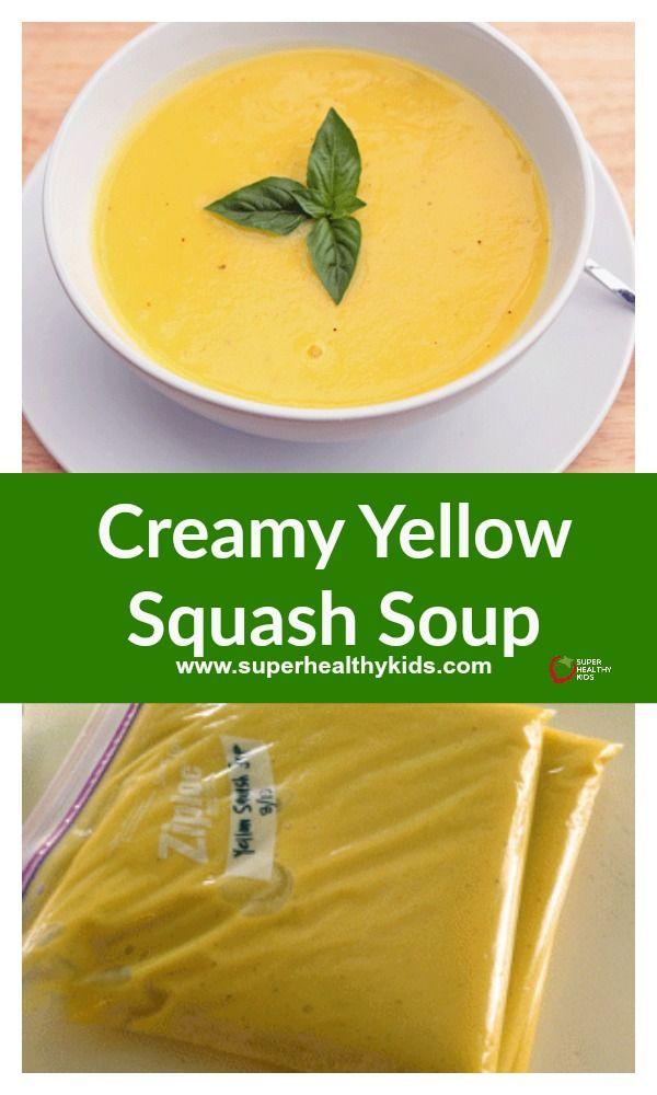 Creamy Yellow Squash Soup | Recipe | Yellow squash soup ...
