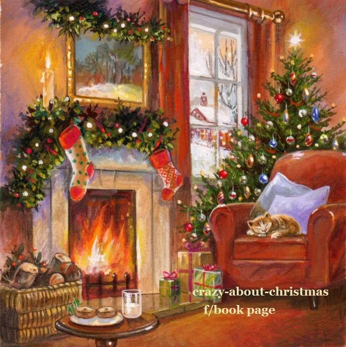 14 pages christmas pinterest vintage christmas Christmas card scenes to paint
