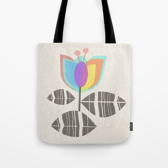 Buy Tulip Tote Bag by mirimo. Worldwide shipping available at Society6.com. Just one of millions of high quality products available.