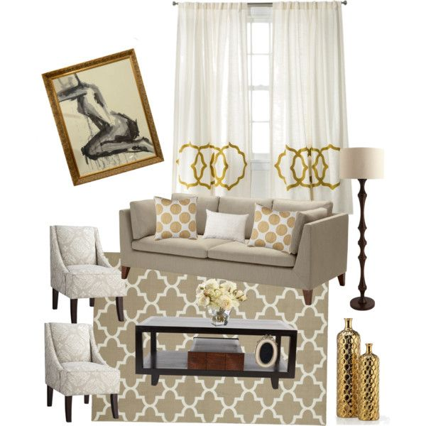 Beige And Gold Living Room Part 68
