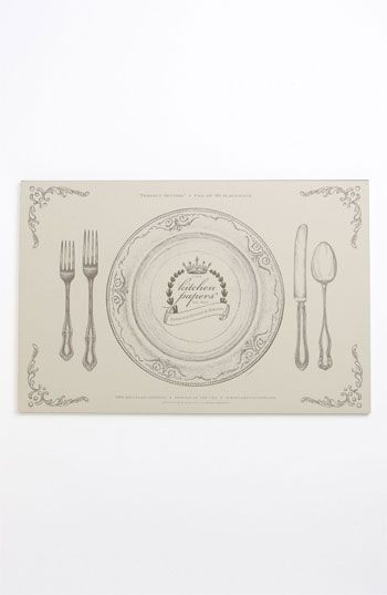 kitchen papers by cake perfect setting paper placemat pad available rh pinterest com Tear Off Pads Paper Placemats Tear Off Pads