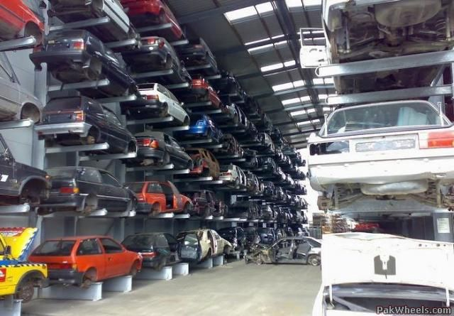 Old Car Salvage Yards Cleanest Scrap Yard In The World