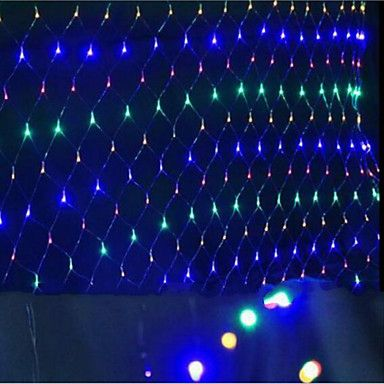 led nets lights christmas lights waterproof colorized 15 15 m96 lamp socket 5385627 2016