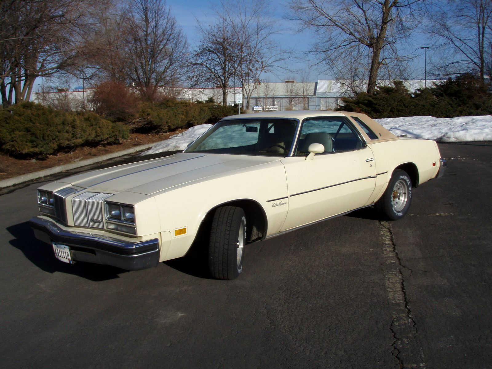 My first car was a 1977 oldsmobile cutlass supreme same color except light blue