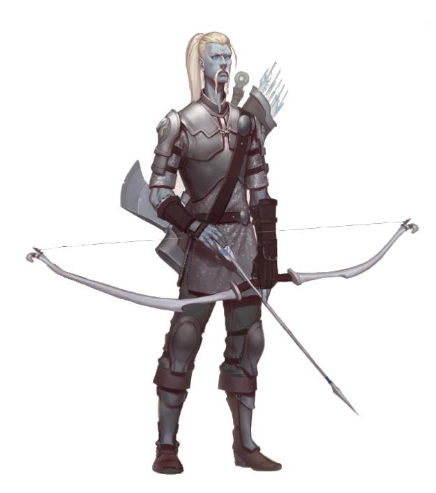 Cloud Giant Fighter Archer - Pathfinder PFRPG DND D&D d20 fantasy ...